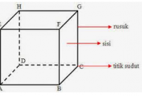 penjelasan tentang rumus luas kubus terlengkap
