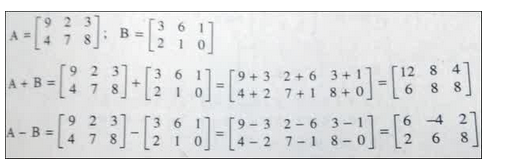 contoh soal rumus penjumlahan dan pengurangan matriks matematika
