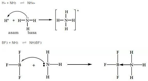 contoh teori asam basa lewis