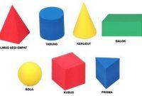 sifat sifat bangun ruang matematika lengkap