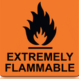 simbol extremelly flammable