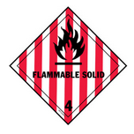 simbol flammable solid