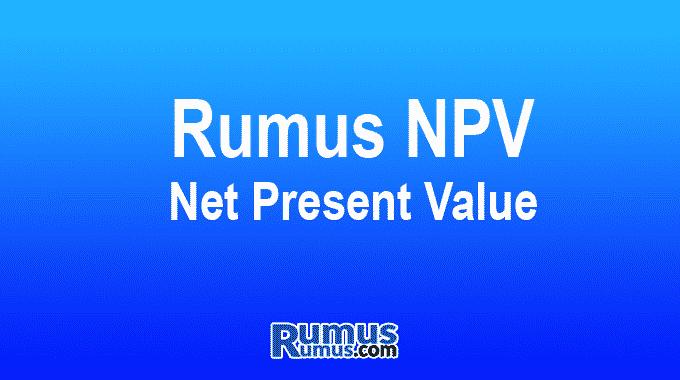 Rumus NPV