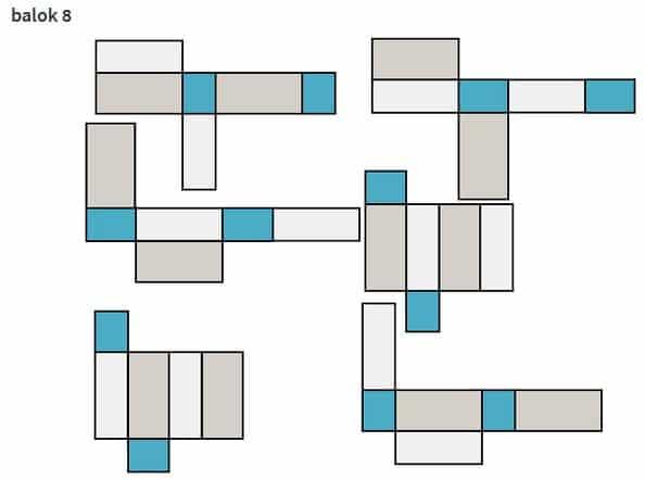 Gambar Jaring-jaring Balok Beserta Variasi dan Cara Membuatnya