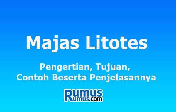 Majas Litotes