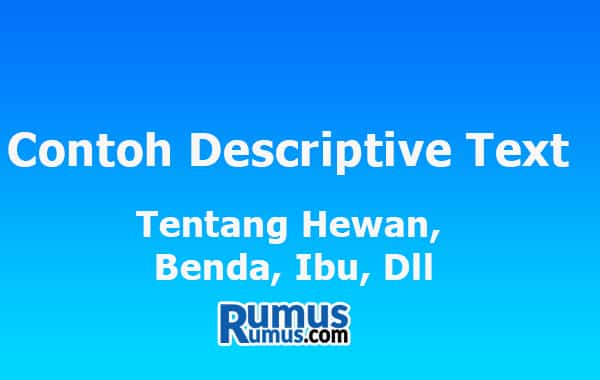Contoh Descriptive Text
