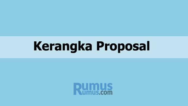 kerangka proposal