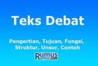 teks debat