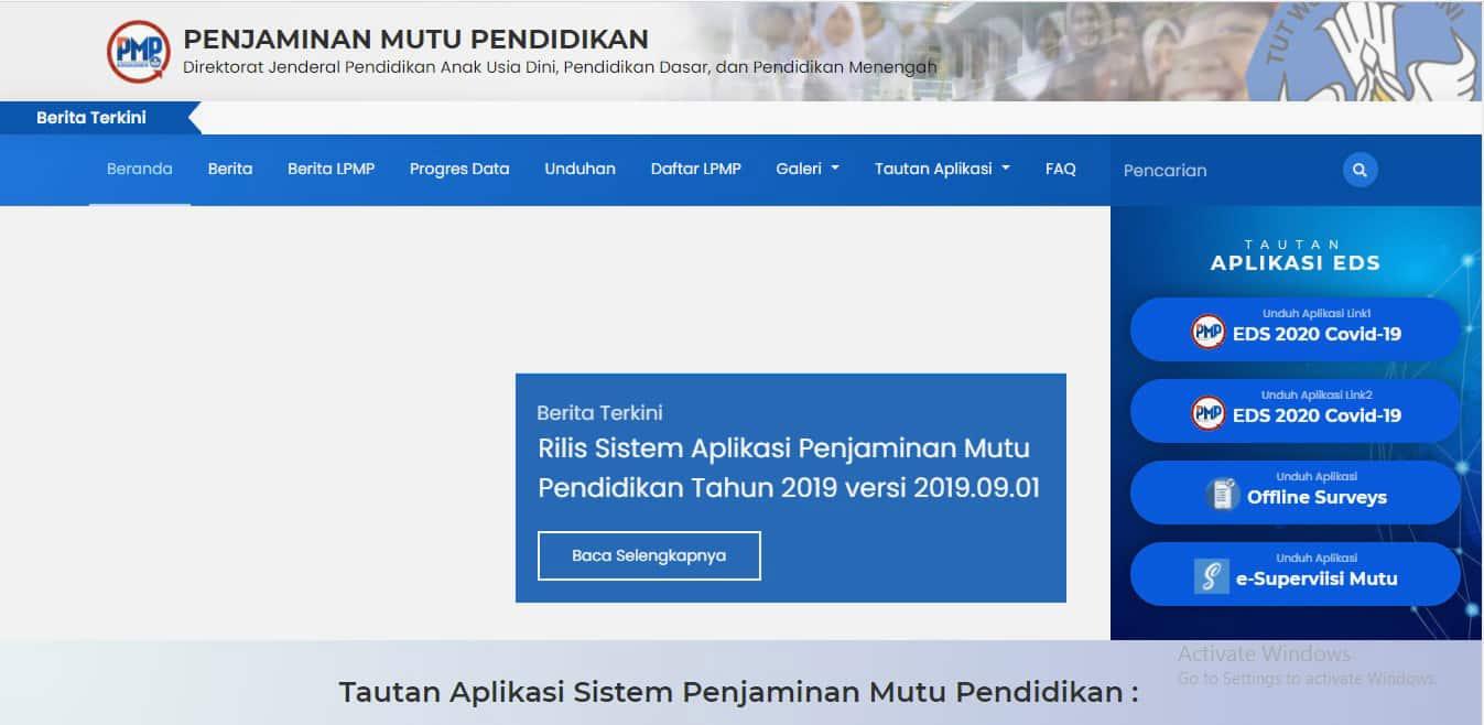 Cara Download Prefill PMP Nasional