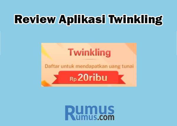 Review Aplikasi Twinkling
