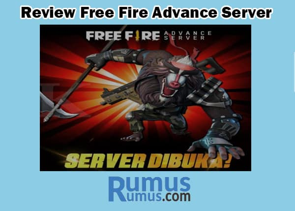 Review Free Fire Advance Server